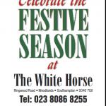 White Horse Christmas 2014