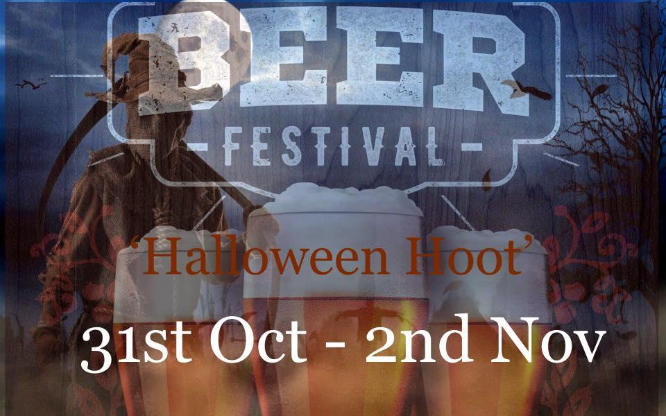 HALLOWEEN HOOT BEER FESTIVAL 2019 | 31st Oct – 2nd Nov |